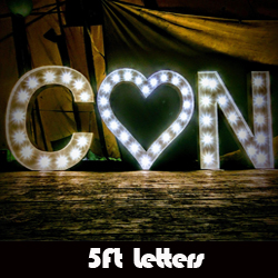 5 Ft Letters
