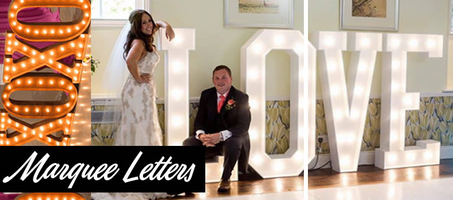 marquee letter rentals
