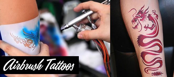 air brush tatoos for parties ny