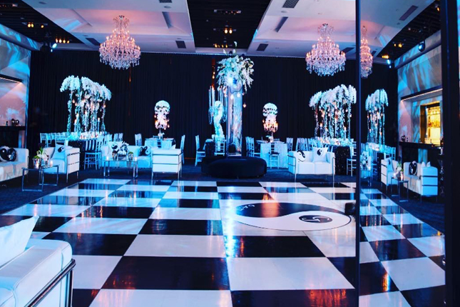 Checkered Dance Floor Nyc