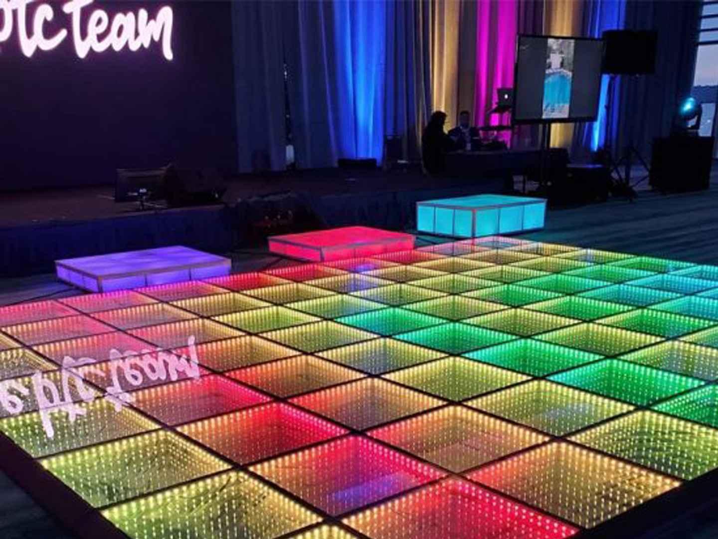 Rent Light Up Dance Floor Nyc