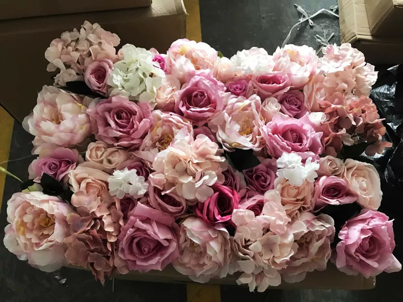 Hire Pink Flower Wall Long Island
