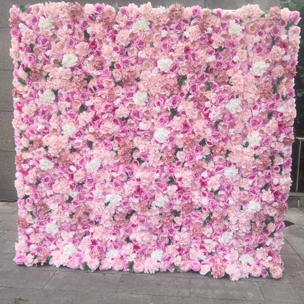 Rent Pink Flower Wall Nyc