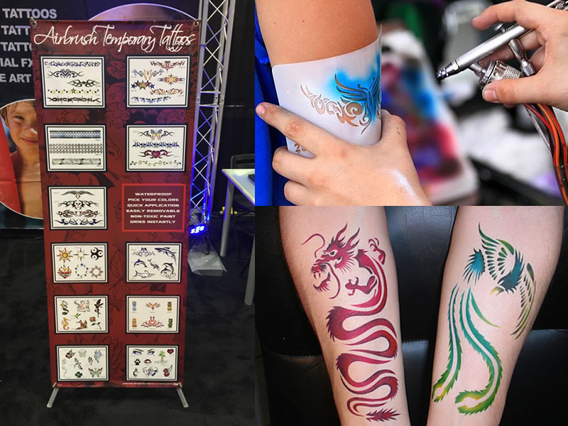Our professional airbrush artists entertain your guests