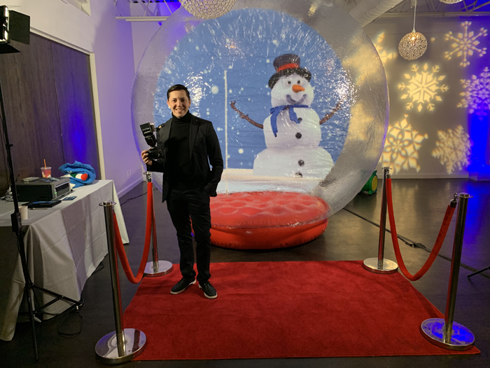 Rent Inflatable Snow Globe Westchester