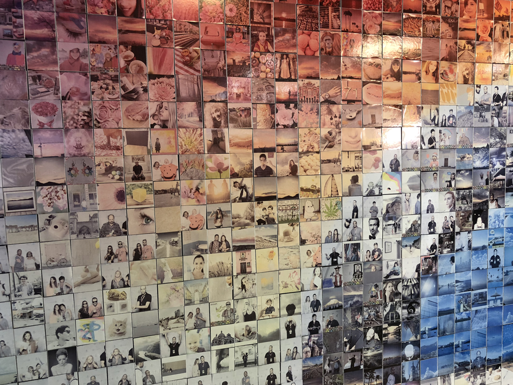 Brand Activation Photo Mosaic Wall Boston