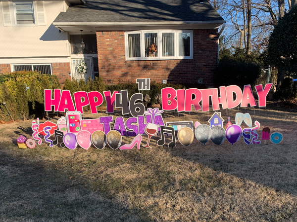 Rent Yard Signs For Birthdays Long Island 2